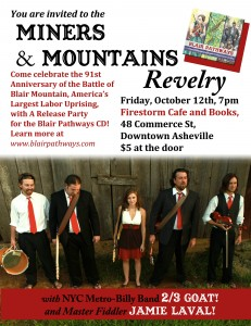 Miners and mountains revelry