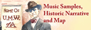 Click here for music samples, historic narrative and map